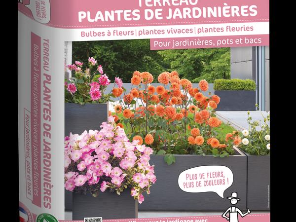 Terreau Plantes de jardinières