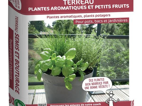 Terreau plantes aromatiques et petits fruits