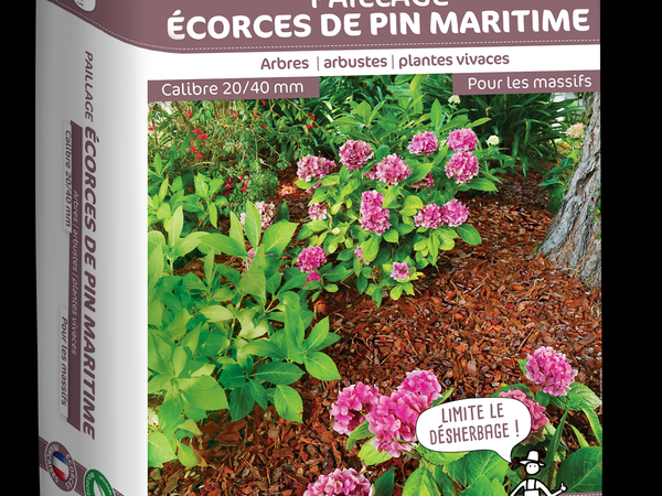 Paillage Ecorce de pin maritime
