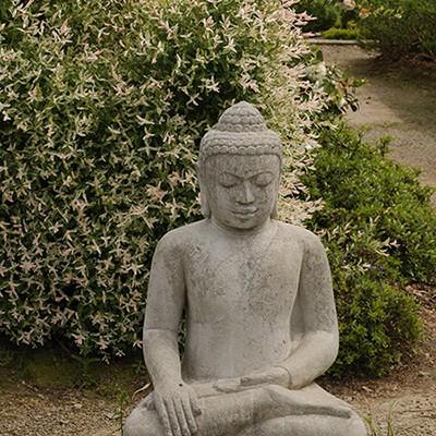 Statue de Boudha Saule crevette